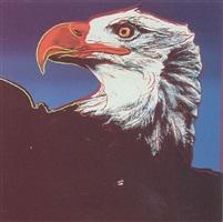 endangered species: bald eagle [ii.296] by andy warhol